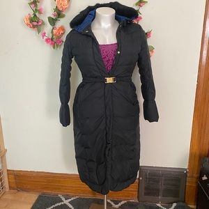 Long Hooded Winter Coat